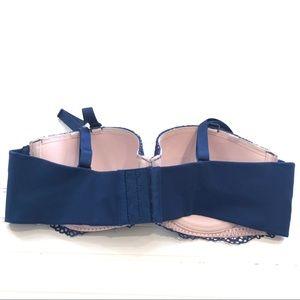 Cacique Intimates & Sleepwear - CACIQUE Blue and nude Lace Bra